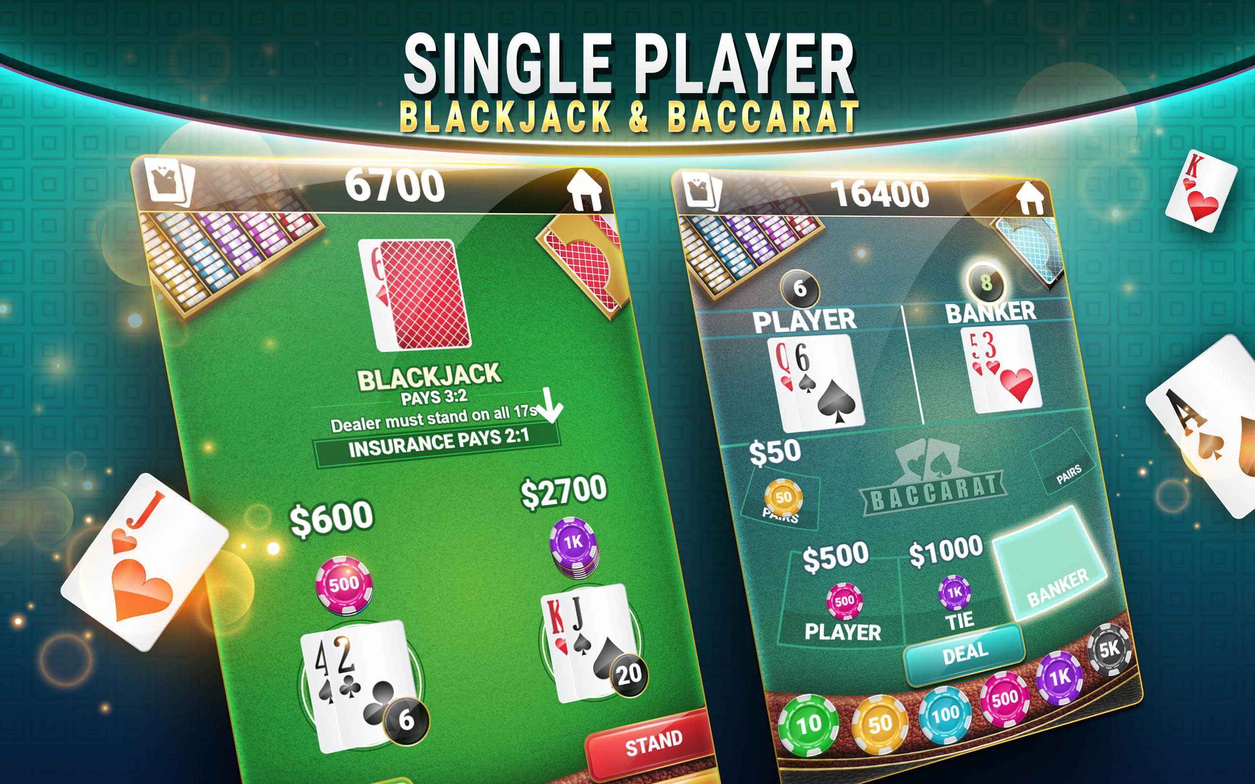 Review Judi Blackjack & Baccarat - Casino Card Game