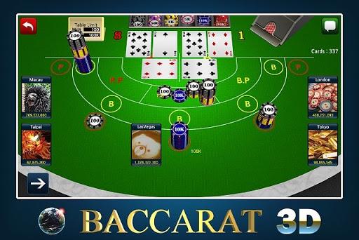Tantangan di Judi Baccarat Online 3D Free Casino
